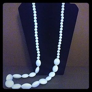String Bead Necklace
